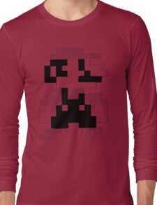 8 Bit Mario Long Sleeve T-Shirt
