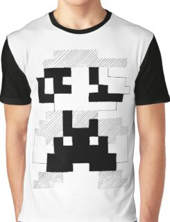 8 Bit Mario Graphic T-Shirt