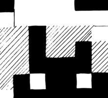 8 Bit Mario Sticker