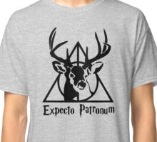 Expecto patrpnum Deathly hallows stag Classic T-Shirt