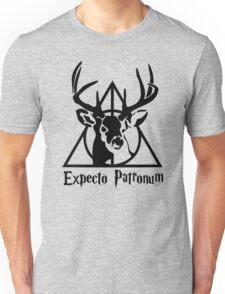 Expecto patrpnum Deathly hallows stag Unisex T-Shirt