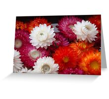 Flower party Greeting Card