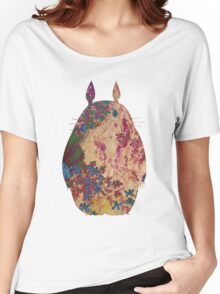 Totoro from Hayao Miyazaki - used look Women's Relaxed Fit T-Shirt