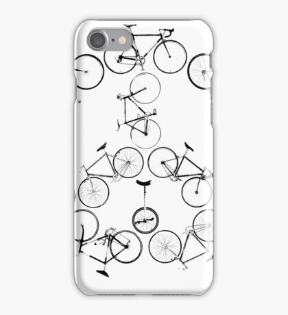 The Peace Cycle by Decibel Clothing iPhone Case/Skin