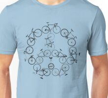 The Peace Cycle by Decibel Clothing Unisex T-Shirt