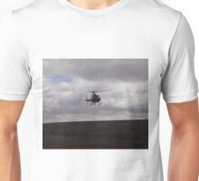 Farming With A Helicopter Unisex T-Shirt