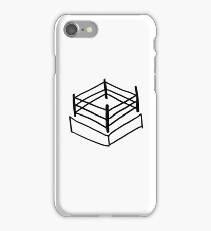 Wrestling RIng iPhone Case/Skin