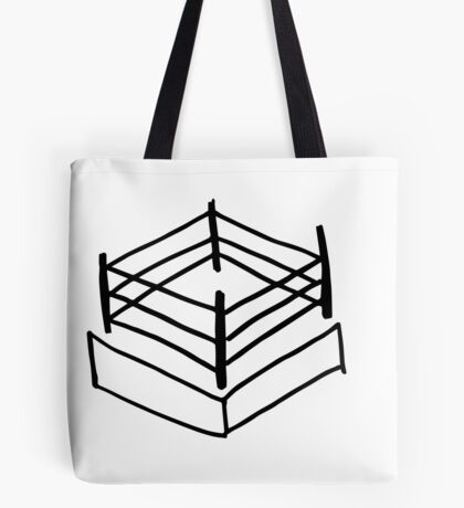 Wrestling RIng Tote Bag