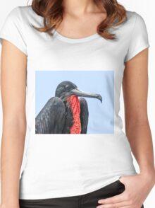 Deflated frigatebird Women's Fitted Scoop T-Shirt