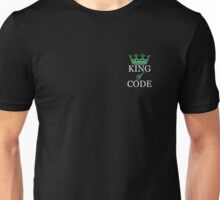 King of Code - white Unisex T-Shirt