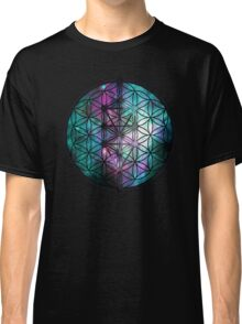 Sacred Geometry: Flower Of Life / Tree Of Life (Painted Cosmos II) Classic T-Shirt