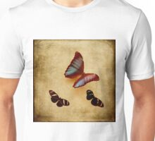 Vintage Inspired Butterflies and Moths Unisex T-Shirt