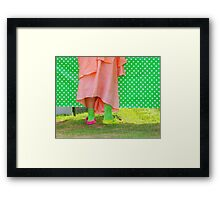 And Bells on His Toes  Framed Print