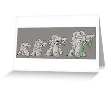 Tiny Dota 2 Greeting Card