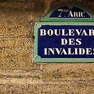 Paris Street Signs - 1 ©  by © Hany G. Jadaa © Prince John Photography