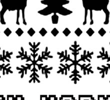 FIFTH HARMONY CHRISTMAS SWEATER KNITTED PATTERN Sticker