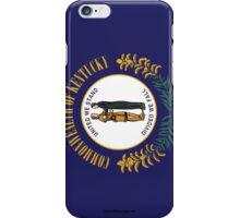 Kentucky State Flag  iPhone Case/Skin