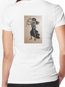 retro photo Women's Fitted V-Neck T-Shirt