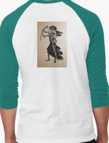 retro photo Men's Baseball ¾ T-Shirt