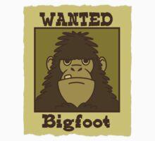 Wanted Bigfoot by SpikeysStudio