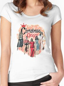 FIFTH HARMONY - CHRISTMAS QUEEN Women's Fitted Scoop T-Shirt