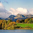 Langdale Pikes in Autumn by mikebov