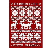 FIFTH HARMONY CHRISTMAS SWEATER KNITTED PATTERN Photographic Print