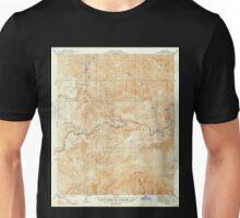 USGS TOPO Map California CA Waterman Mtn 301237 1941 24000 geo Unisex T-Shirt
