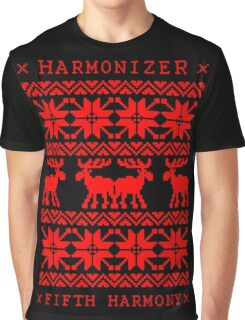 FIFTH HARMONY CHRISTMAS SWEATER KNITTED PATTERN Graphic T-Shirt