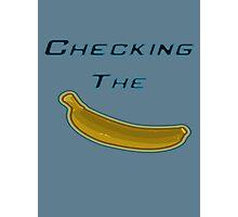 CS:GO Checking the Banana Logo Photographic Print