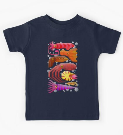 Cephalopods Kids Clothes