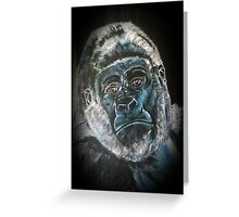 Kaz Art Creations Gorilla Im Serious   Greeting Card