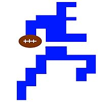 Classic Video Game Football Player Intellivision Photographic Print