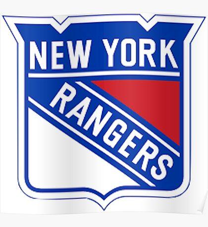 National Hockey League - New York Rangers Poster
