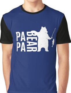 Papa Bear Best Funny T Shirt Graphic T-Shirt