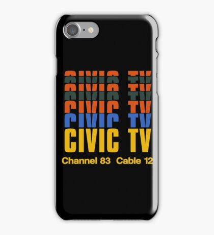 CIVIC TV - VIDEODROME MOVIE iPhone Case/Skin