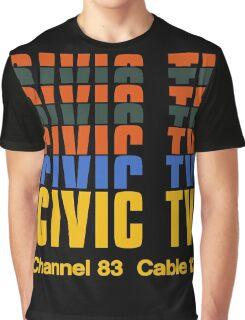 CIVIC TV - VIDEODROME MOVIE Graphic T-Shirt