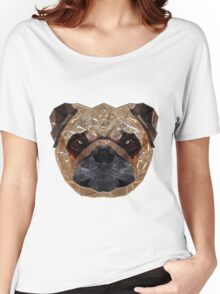 Pug Portrait Women's Relaxed Fit T-Shirt