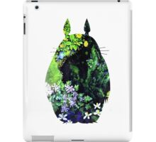 Totoro from Hayao Miyazaki - colorful iPad Case/Skin