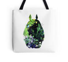 Totoro from Hayao Miyazaki - colorful Tote Bag