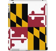 Maryland State Flag iPad Case/Skin