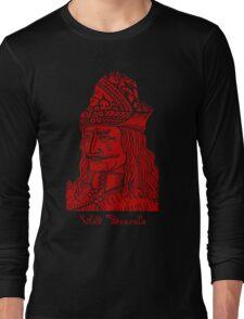 Vlad Dracula Tepes The Impaler Vampire Long Sleeve T-Shirt