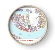 Multiple Deprivation Island Gardens ward, Tower Hamlets Clock