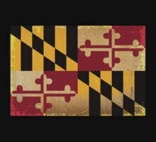 Maryland State Flag VINTAGE by USAswagg