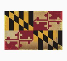 Maryland State Flag VINTAGE Kids Clothes