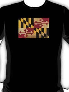 Maryland State Flag VINTAGE T-Shirt