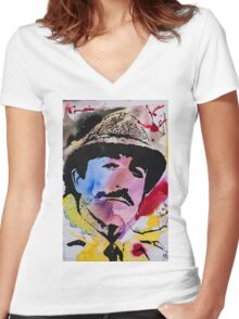 Clouseau Women's Fitted V-Neck T-Shirt
