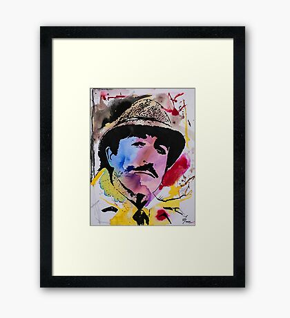 Clouseau Framed Print