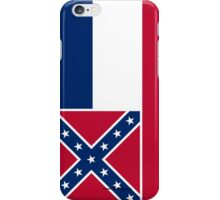 Mississippi State Flag iPhone Case/Skin