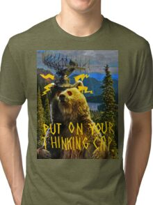 Thinking Cap Tri-blend T-Shirt